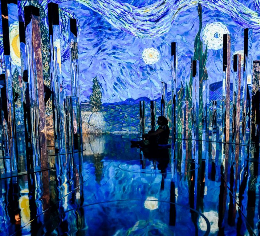Immersive Van Gogh NYC 17, photo credit Nina Westervelt